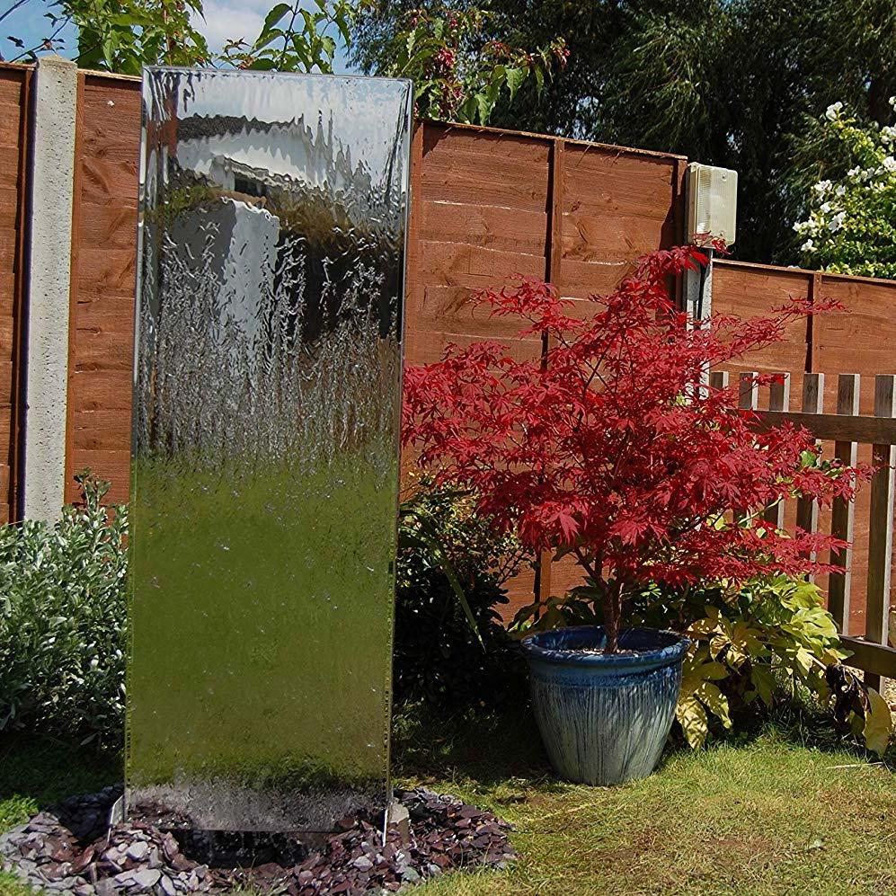 Realiser Un Mur D Eau Exterieur place design   murs d'eau un aspect plus naturel à votre